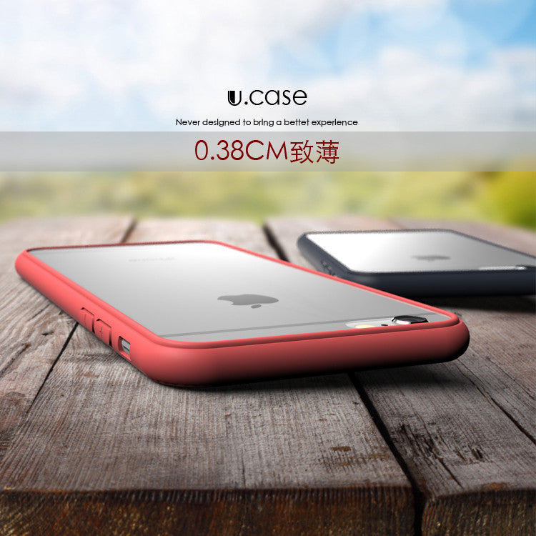 Classic 100% Original Qoowa Brand transparent silicon phone case for