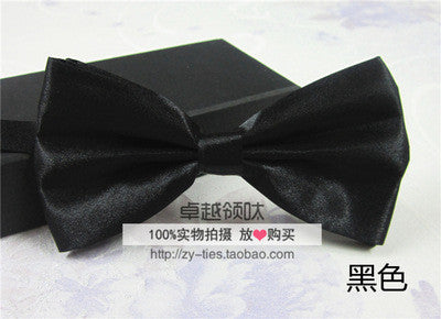 Men's Fashion Tuxedo Classic Mixed Solid Color Butterfly Wedding Party Bowtie Bow Tie Pre Tied LD8006