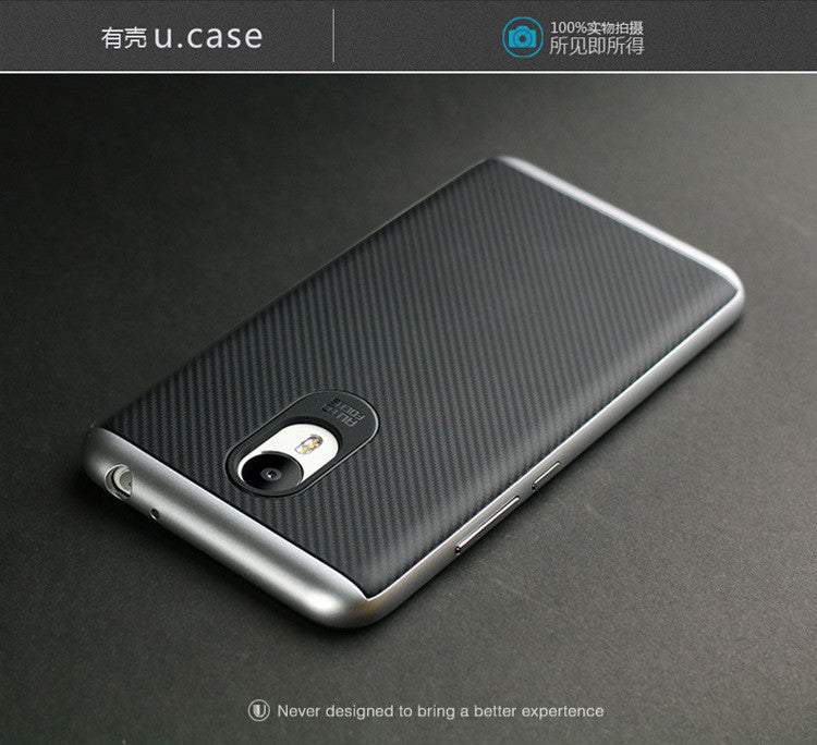 Case for Meizu M3 Note New Style PC+TPU Case with Frame Shock-proof
