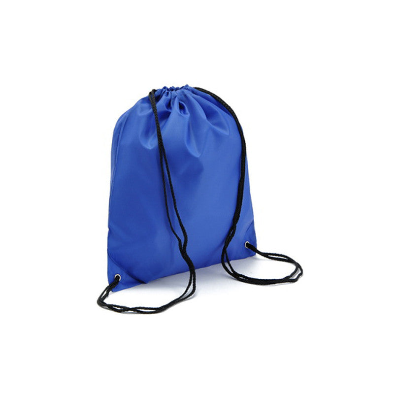 Waterproof Nylon Storage Bags Drawstring Backpack Baby Kids Toys