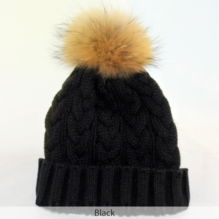 Winter Brand New Colorful Snow Caps Wool Knitted Beanie Hat With