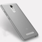 PZOZ Xiomi Redmi Note 3 Case Silicone Cover Original Xiaomi Redmi Note 3 Pro Slim Protection Soft Shell Xiami Redmi Note 3 5.5