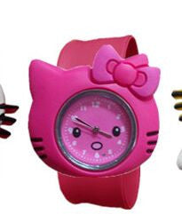 New Fashion mixed style Cartoon Watch Children Silicone Quartz