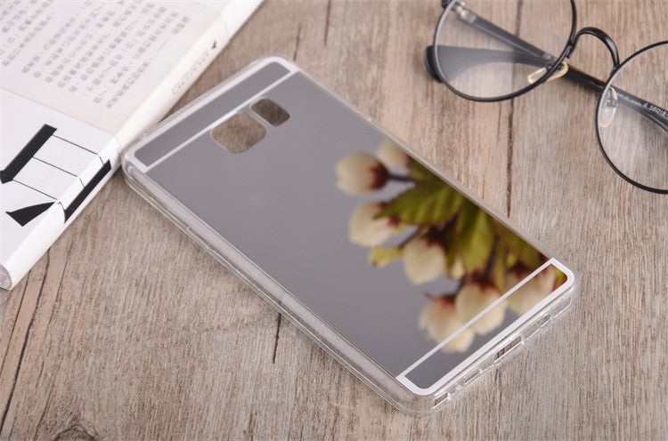 Clear Silicon TPU Mirror Case For Samsung Galaxy S6 S6 Edge / S6