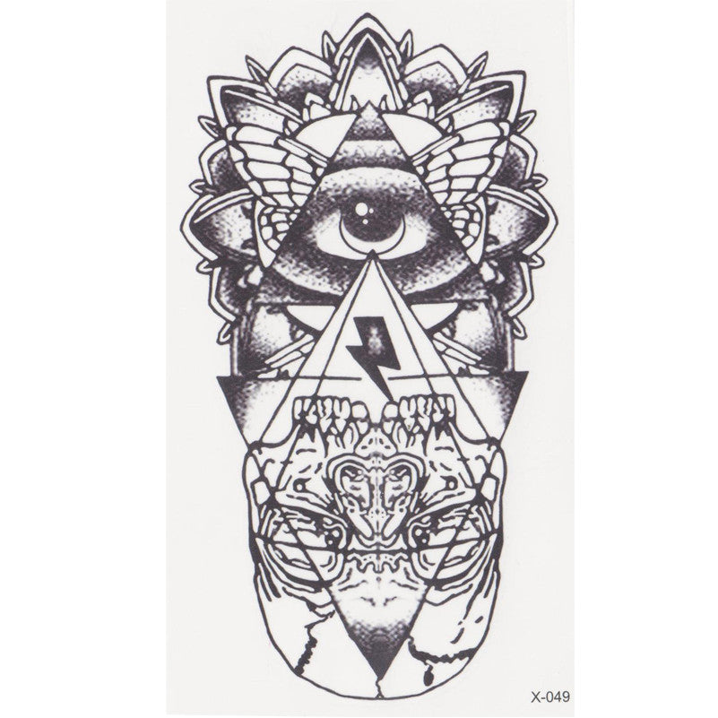 new eye of God Temporary Tattoo Sticker totem tattoo body art