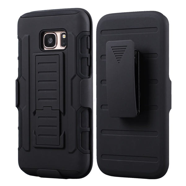 For Samsung Galaxy J5 Belt Clip Holster Stand Case For Samsung J3 J5 A3 A7 A5 Silicon Hybrid Case for Samsung S7 S3 S6 S5