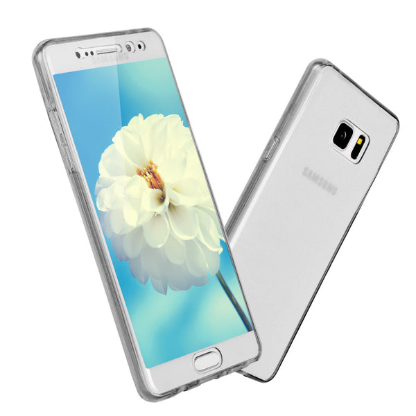 S7 EDGE Case Front Back Case for Samsung Galaxy A5 Touch Soft TPU Case for Samsung A5 J3 J5 S6 A3 A5 S3 S5 S6 S7 EDGE