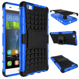For Huawei P8 Lite Case Heavy Duty Armor Shockproof Hybrid Hard Soft Silicone Rugged Rubber Phone Case Cover For P8 Lite (<