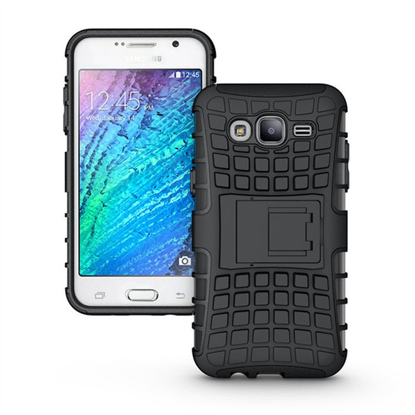 For Samsung Galaxy J5 Case J500F Heavy Duty Armor Shockproof Hybrid Hard Silicone Rubber Phone Case Cover For Samsung J5 (<