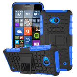 For Nokia Lumia 640 Case Heavy Duty Armor Shockproof Hybird Hard Rugged Silicone Rubber Phone Cases Cover For Nokia 640 N640 <(