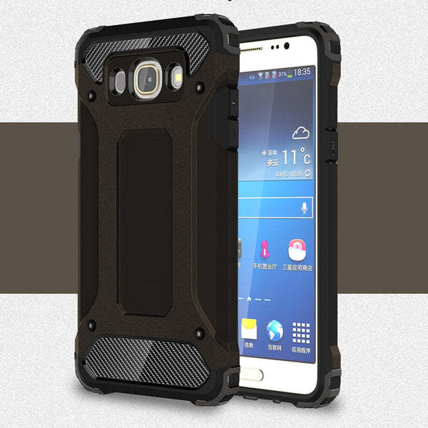 Case For Samsung galaxy J5 J510 J510F Slim Armor Anti-Shock Silicone Hybrid Hard PC Phone Case For Samsung J5 Cover ]<