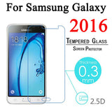 Screen Protector Tempered Glass For Samsung Galaxy J1 mini J3 J5 J7 A3 A5 A7 C5 C7 S6 S7 Toughened Protective Film