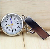 New Arrival Nurse Pocket Watch Stainless Steel Arabic Numerals Quartz Brooch Doctor Nurse Pocket Fob Watch