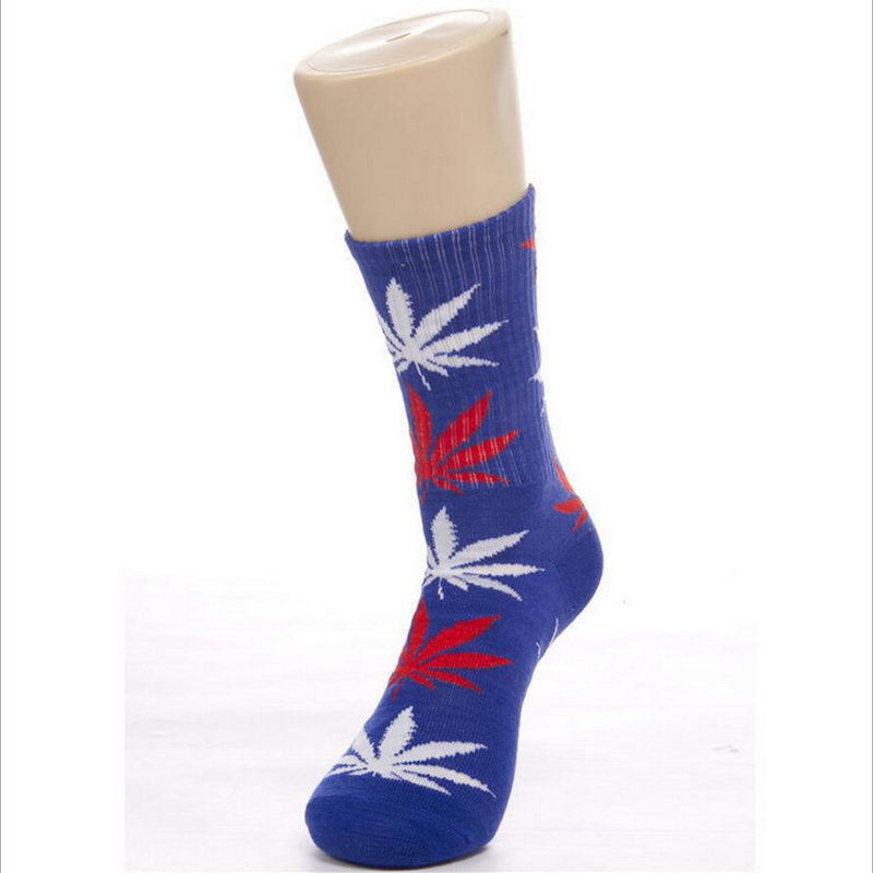 Best Selling Germany's Harajuku Hiphop Women's Maple Leaf Sock