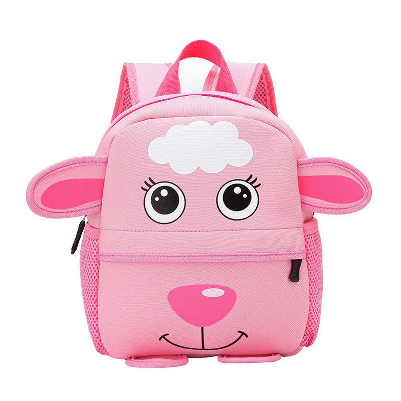 Children 3D Cute Animal Design Backpack Toddler Kid Neoprene School