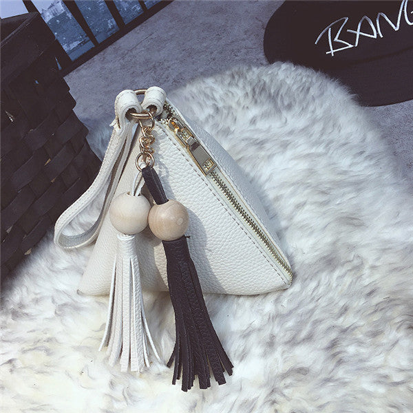 Best Price Women's Pearl Beaded Tassel Evening Bag Fringe Handbag Ball