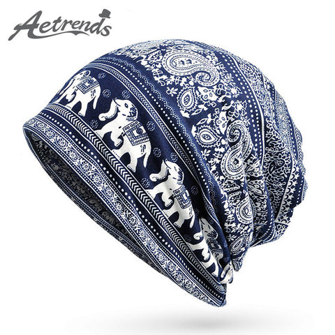 [AETRENDS] Winter Hats for Men or Women Multi Use Beanies Masked Hood and Collar Scarf Z-5015