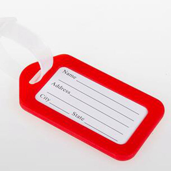 Classic Plastic Luggage Tag Travel Suitcase Baggage Travel Bag
