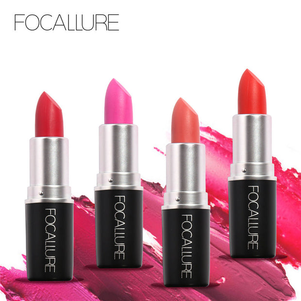 FOCALLURE Pro Matte Lipstick Makeup Beauty For Women Pink Baby Lips