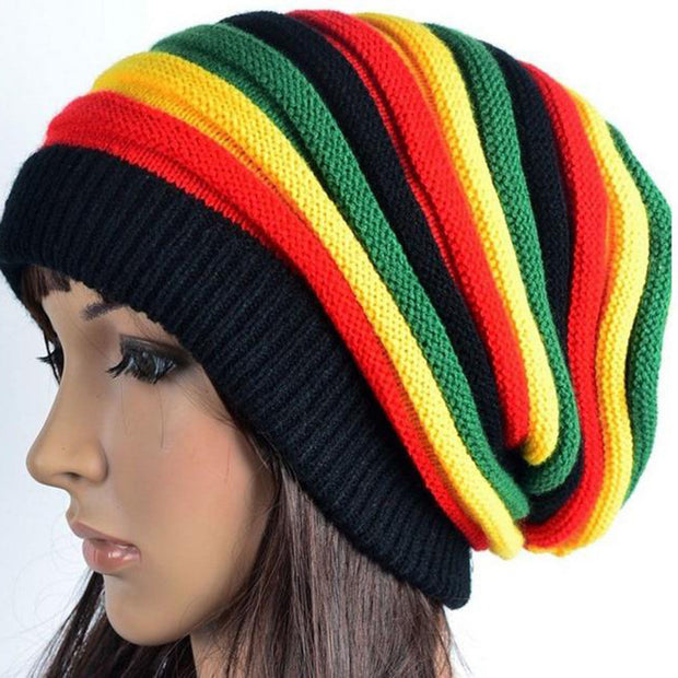 Jamaica Reggae Gorro Rasta Style Cappello Hip Pop Men's Winter Hats