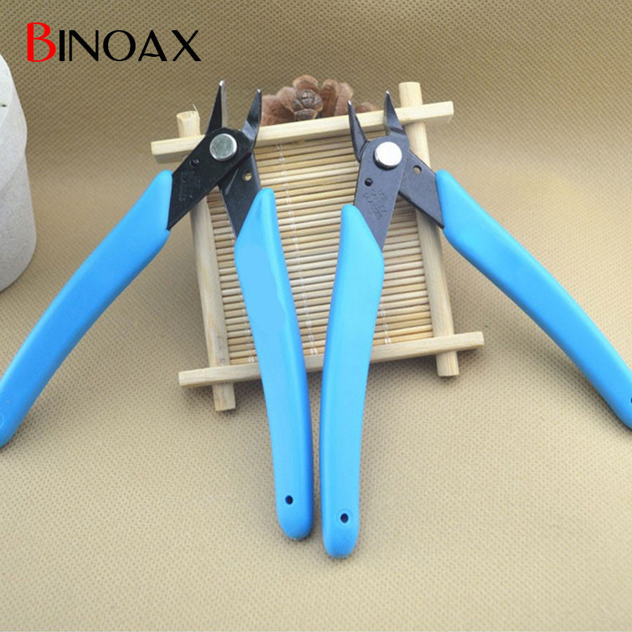 Binoax Electrical Wire Cable Cutters Cutting Side Snips Flush Pliers