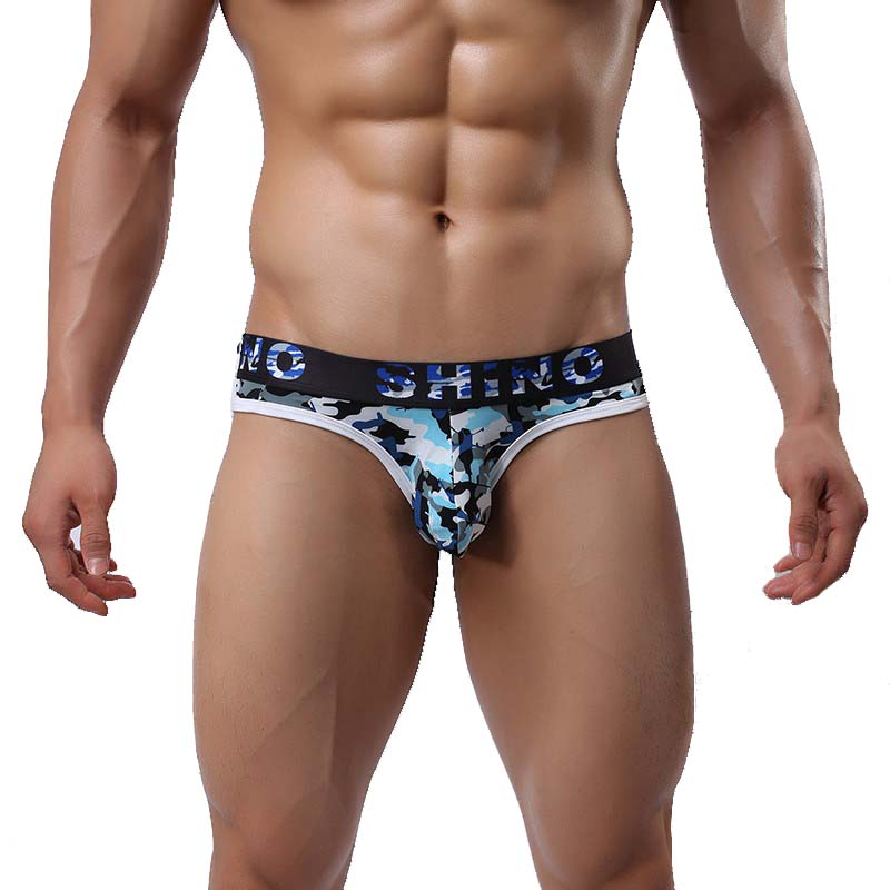 Sexy Mens Underwear Brand Fashion 2017 Camouflage Men Sex Underwear