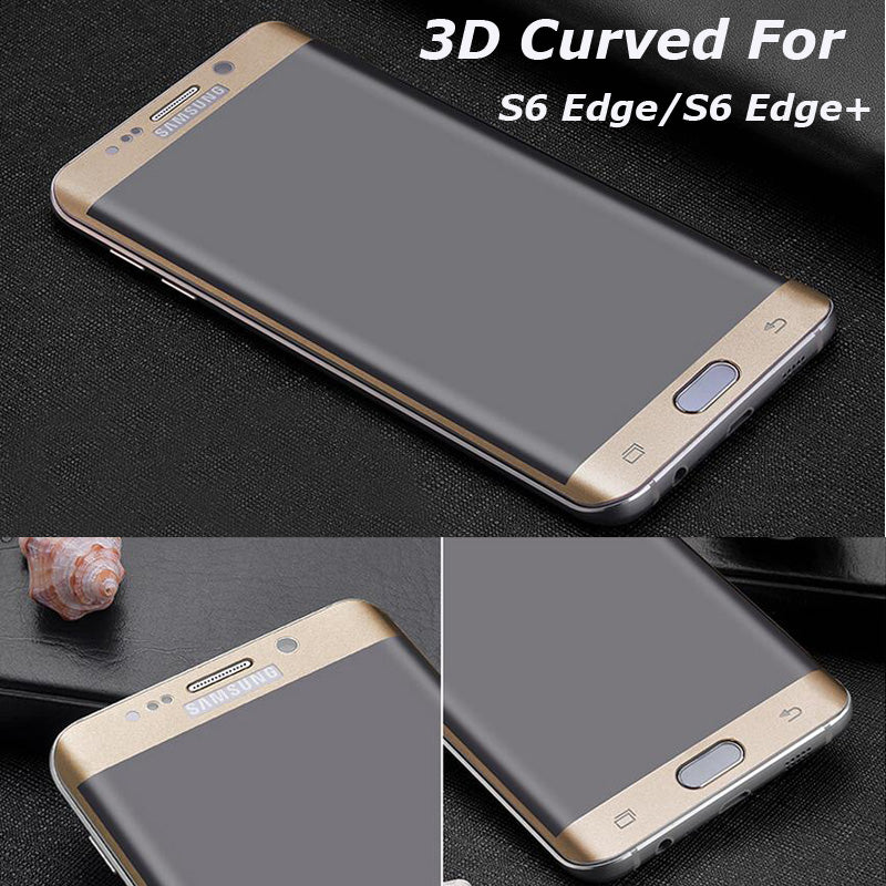 3D Curved Full Cover Tempered Glass Screen Protector for Samsung