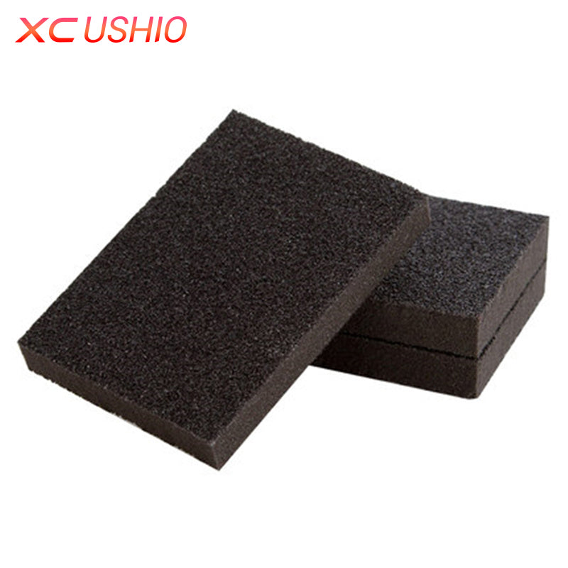 2pcs/lot Thin Descaling Cleaning Sponge Super Strong Kitchen