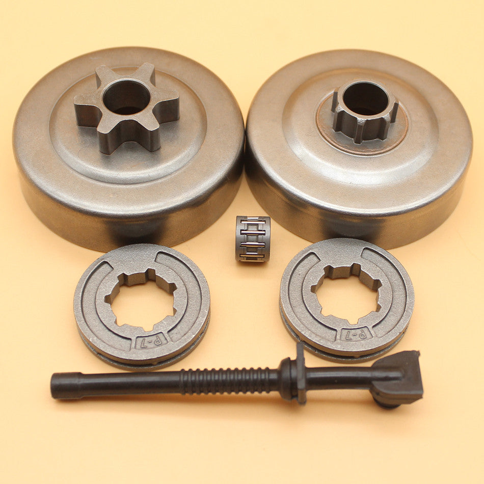 Clutch Drum Needle Bearing & 17mm P7 Sprocket Rims For STIHL MS180