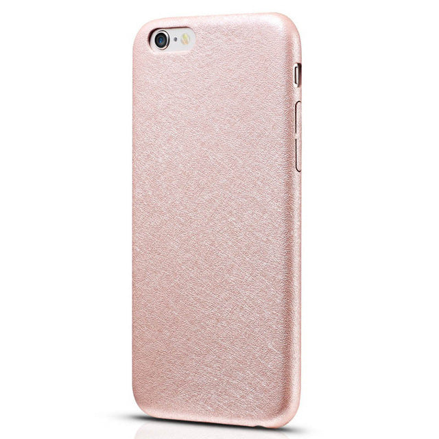 6S Luxury Ultra Thin Silk PU Leather Case For iPhone 6 6S 4.7 Inch
