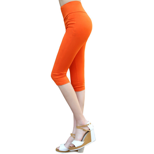 2016 Summer fashion 16 color Women's casual pants Waist slimming