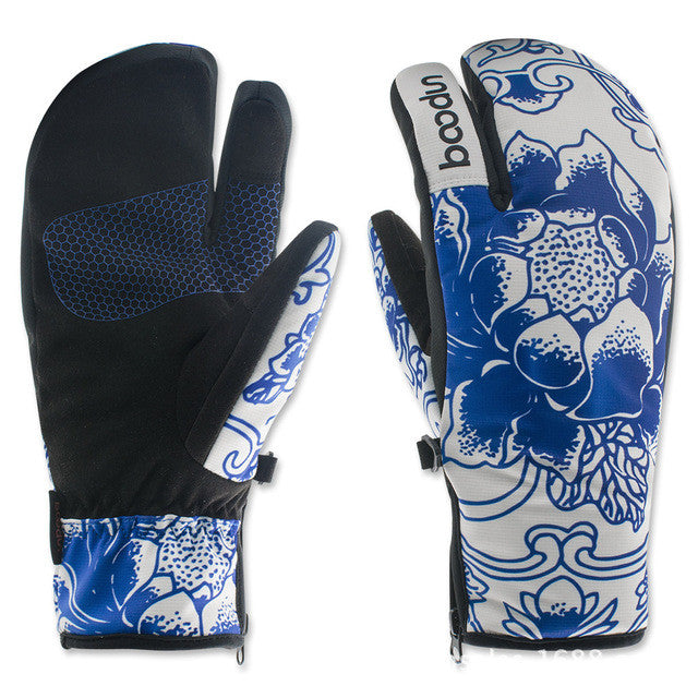 Brand New Winter Snowboard Gloves for Women Ski Gloves Windproof