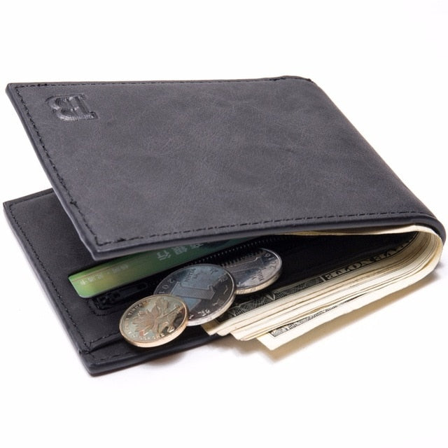 Coin Bag zipper 2017 New men wallets mens wallet small money purses Wallets New Design Dollar Price Top slim Men Wallet For Male