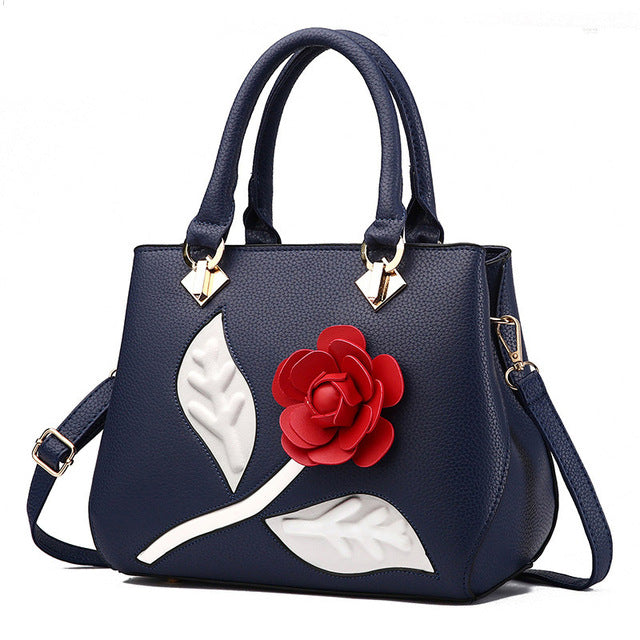 2017 women leather handbags  female sweet ladies fashion handbag