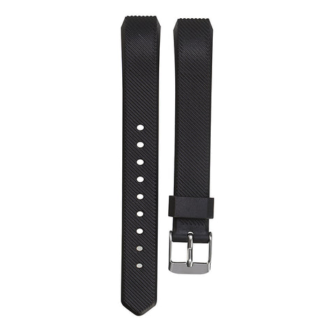 Luxury Silicone Watchband High Quality Replacement Wrist Band Silicon Strap Clasp For Fitbit Alta Smart Watch Bracelet