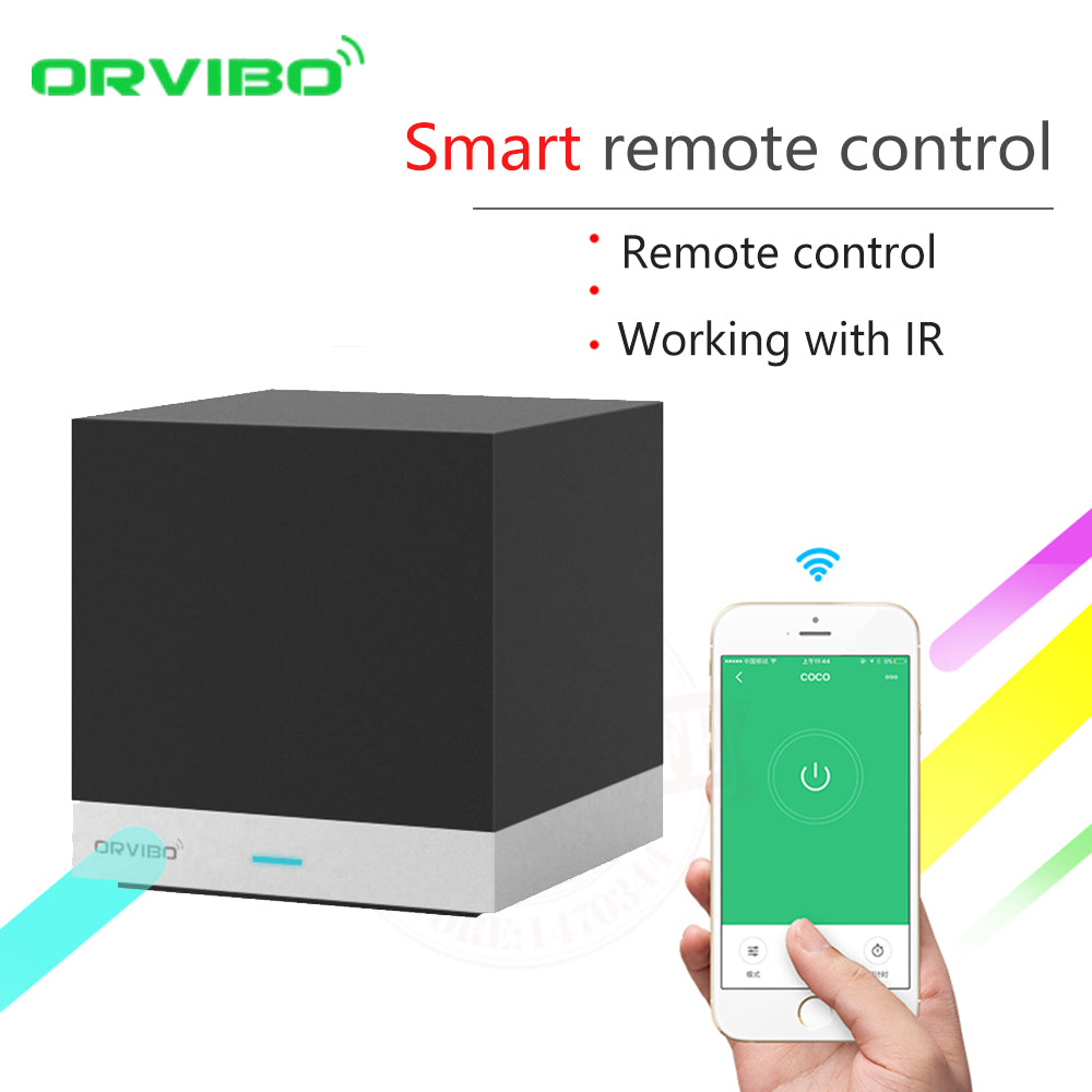 2017 Orvibo Smart Home Automation System WiFi IR Remote Controller