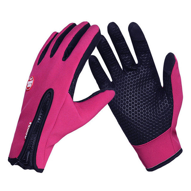Upgrade Winter Ski Gloves Men Women Windproof Breathable Touch