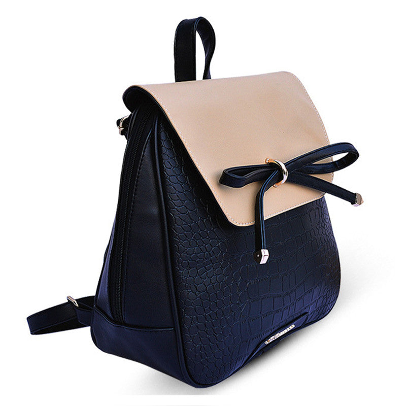 New Leather Backpack Backpacks For Teenage Girls Women Backpack School