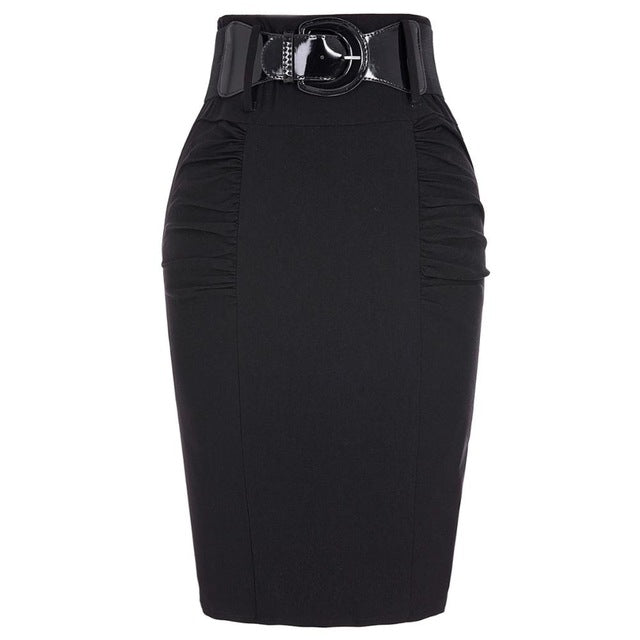2017 New Sexy Pencil Skirts Womens Business Work Office Skirt With