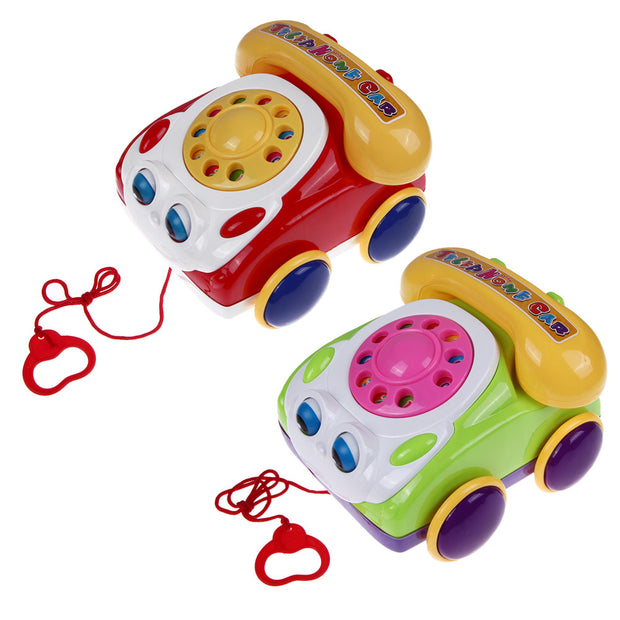 Baby Telephone Toy Colorful Plastic Children's Learning Fun Music