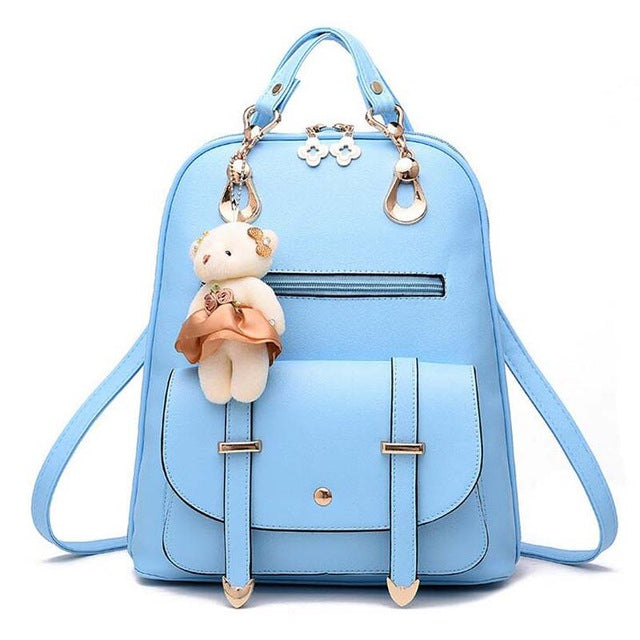 2017 new arrival fashion women backpack new spring and summer students