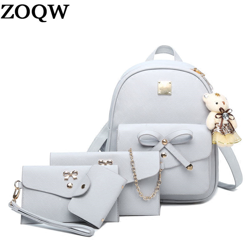 2017 New Women Backpack Small Size Fashion Backpacks for Teenage Girls