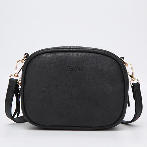 Bolish Soft Nubuck Leather Women Crossbody Bag Fashion Spring and