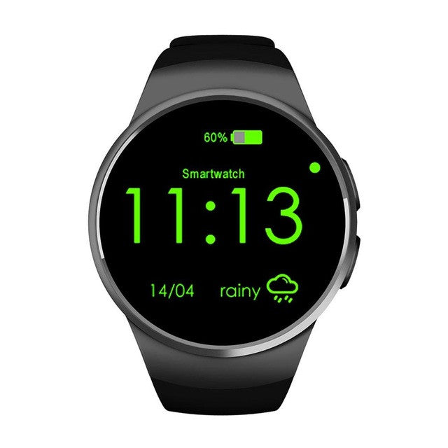 Bluetooth Smart Watch Phone KING-WEAR KW18 Sim&TF Card Heart Rate
