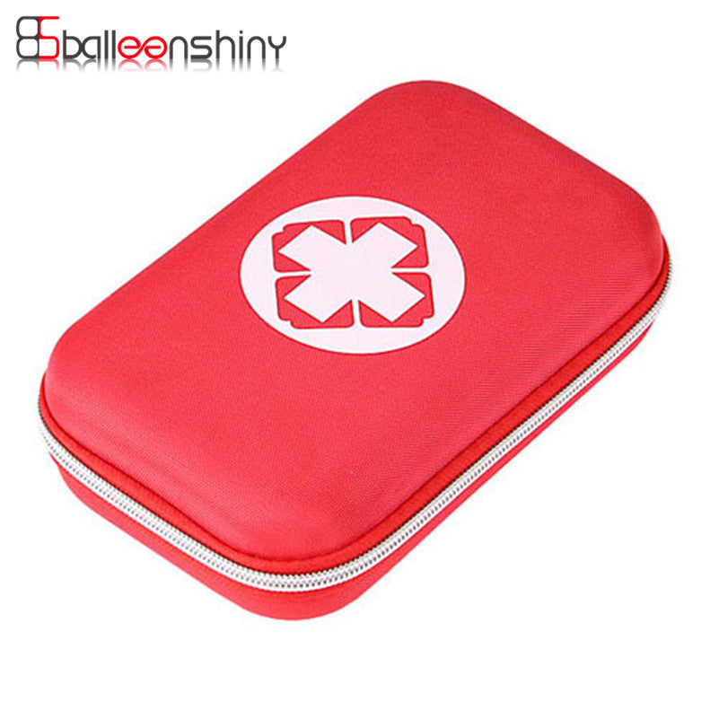 BalleenShiny Medicine Storage Bag Portable First Aid Emergency Medical