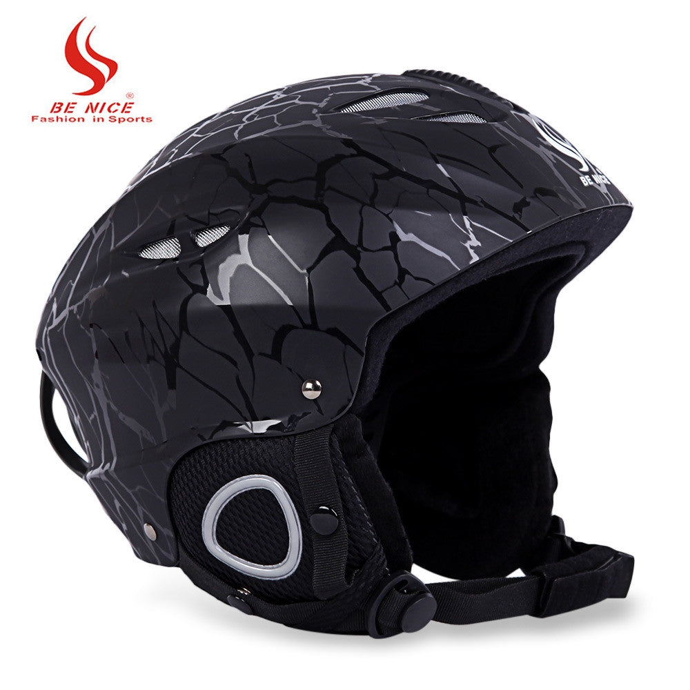 BENICE Skiing Helmet with Inner Adjustable Buckle Liner Cushion