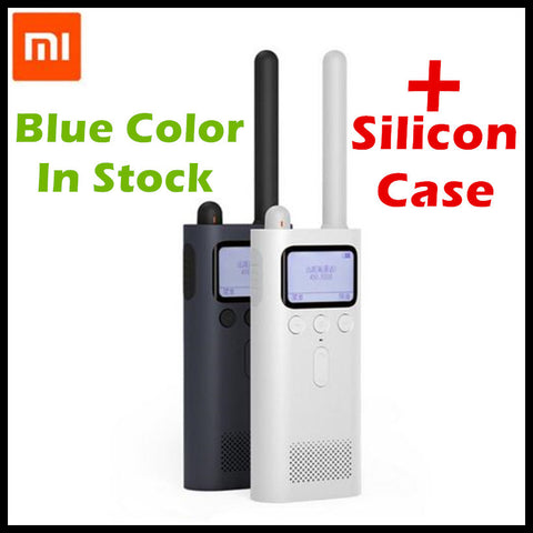 (In Stock 20PC) Original Xiaomi Mijia Smart Walkie Talkie FM Radio 8 Dayds Standby Smart Phone APP Location Share Fast Team Talk