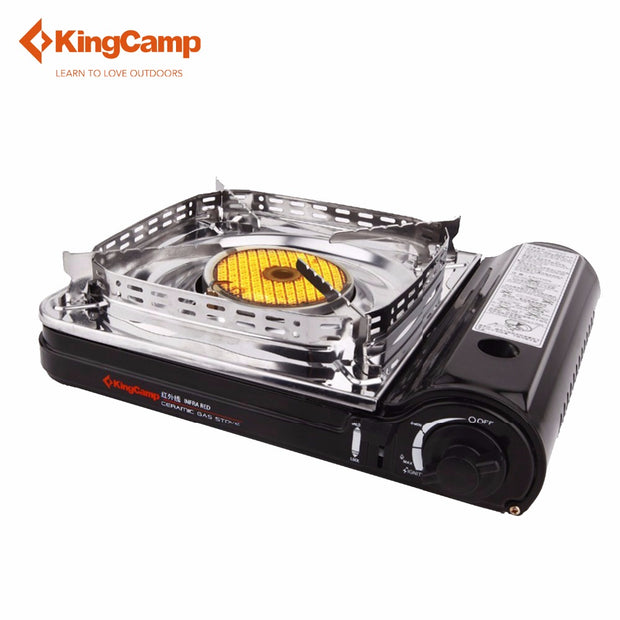 KingCamp Super Windproof Outdoor Camping Equipment Gas Stove Ceramic