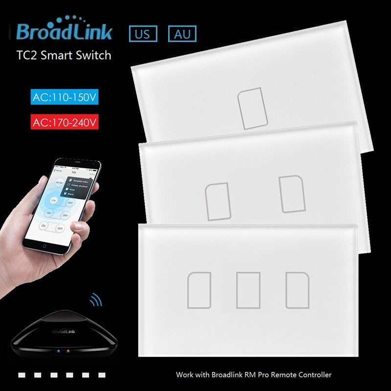 Broadlink TC2 US/AU 2017 New Arrival Smart Home RF Touch Light