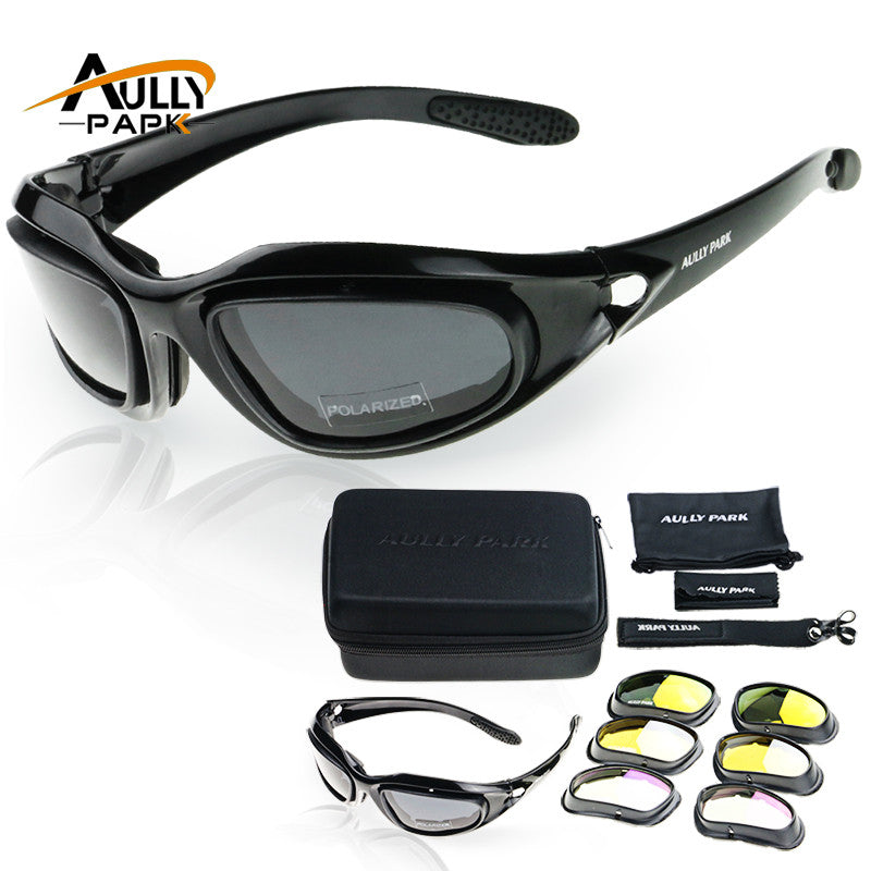 15df2d5cd6a Motorcycle Glasses Army Polarized Sunglasses For Hunting Shooting –  nantahalas